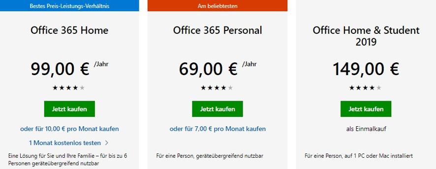 office-365-preise-abonnement-einmalzahlung
