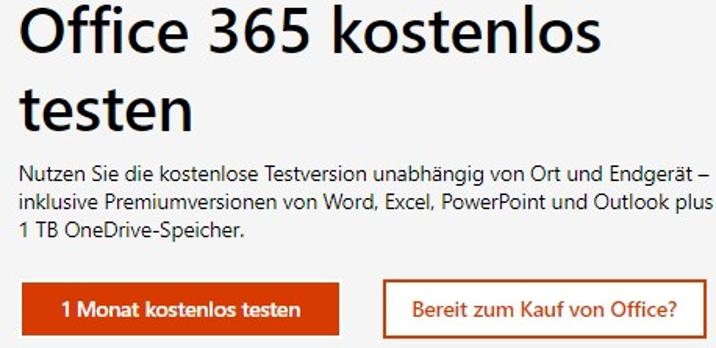 office-365-preise-testversion