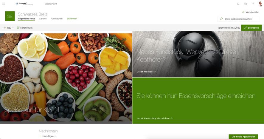 office365-sharepoint-digitales-schwarzes-brett