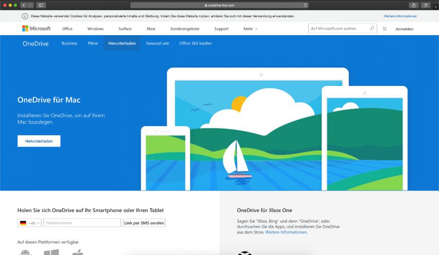onedrive-mac-downloadseite