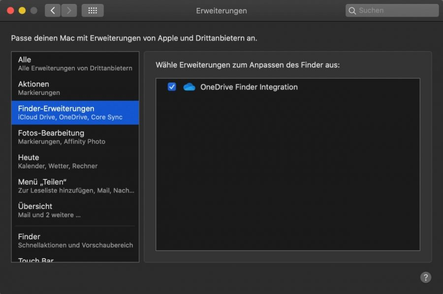 onedrive-mac-finder-erweiterungen