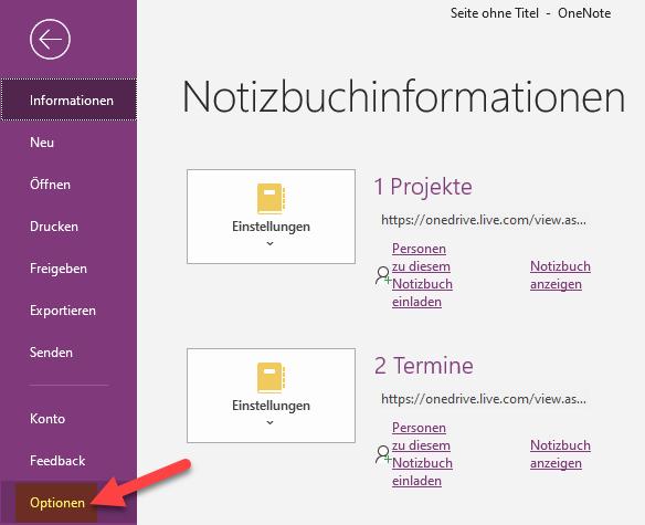 onenote-add-ins-auswahl-optionen-im-menue