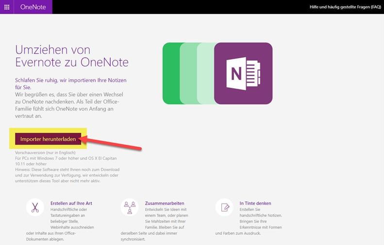 onenote-evernote-importer-installationsdateien-herunterladen