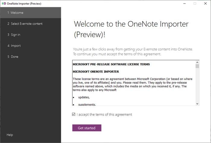 onenote-evernote-importer-starten-des-programmes