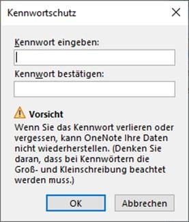 onenote-im-team-kennwort-festlegen