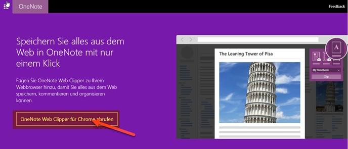 onenote-lesezeichen-web-clipper-installation
