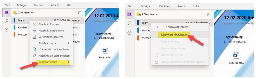 onenote-notizbuch-freigeben-abschnitte-mit-passwort-versehen