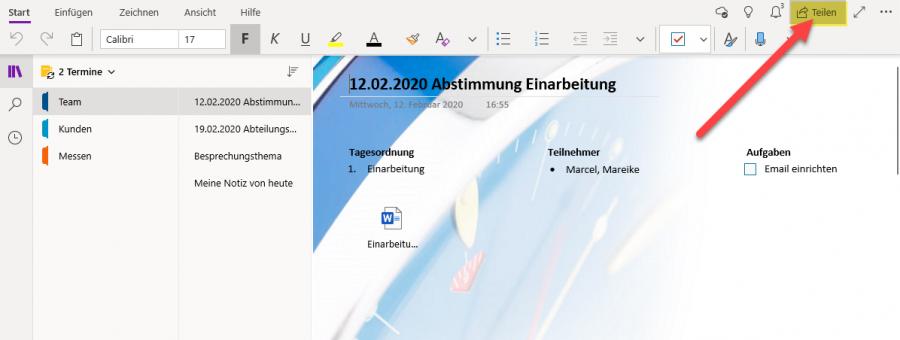 onenote-notizbuch-freigeben-funktion-teilen
