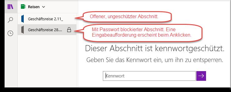 onenote-notizbuch-freigeben-kennwort-eingeben-um-geschuetzten-bereich-wieder-freizugeben