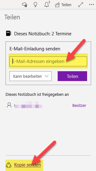 onenote-notizbuch-freigeben-kopie-versenden