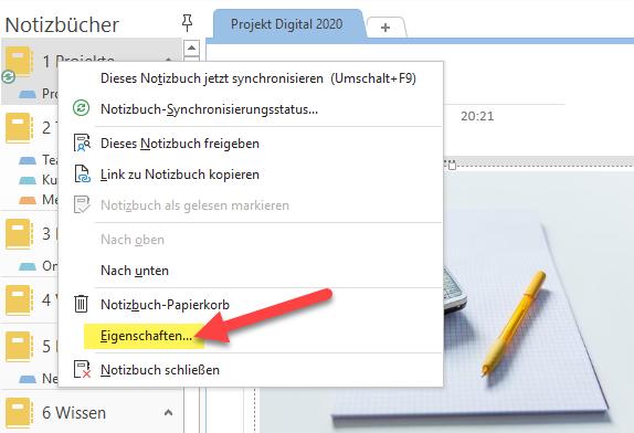 onenote-notizbuch-freigeben-speicherort-aendern