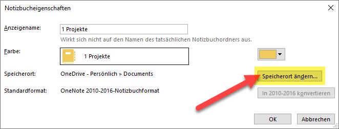 onenote-notizbuch-freigeben-unter-eigenschaften-den-speicherort-aendern