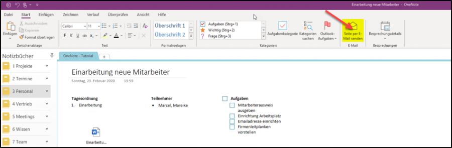 onenote-outlook-funktion-seite-per-email-senden