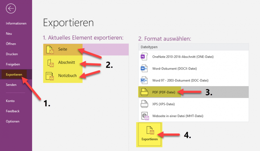 onenote-pdf-notizen-exportieren-als-pdf