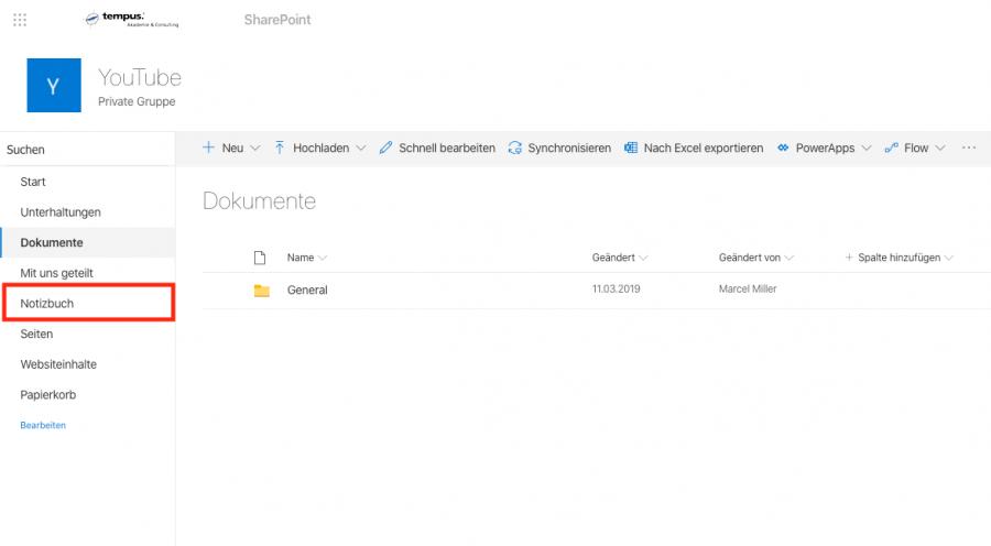onenote-sharepoint-notizbuch-auswaehlen