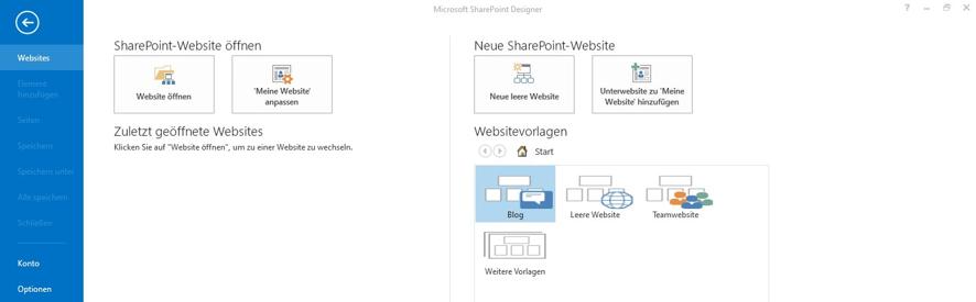 onenote-sharepoint-onedrive-programmoberflaeche