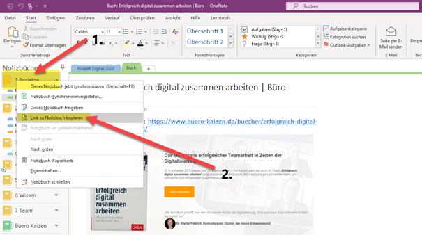 onenote-verknüpfen-Link-zu-Notizbuch-kopieren