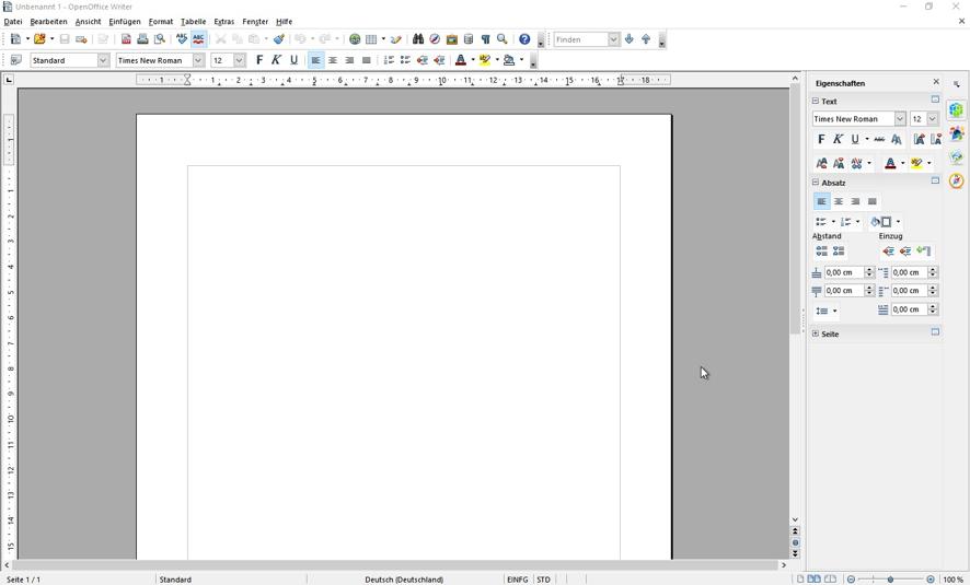 open-office365-leeres-textdokument