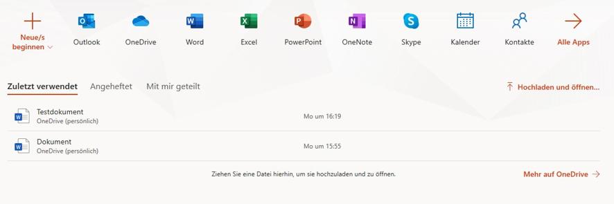 open-office365-nicht-alle-anwendungen-verfuegbar