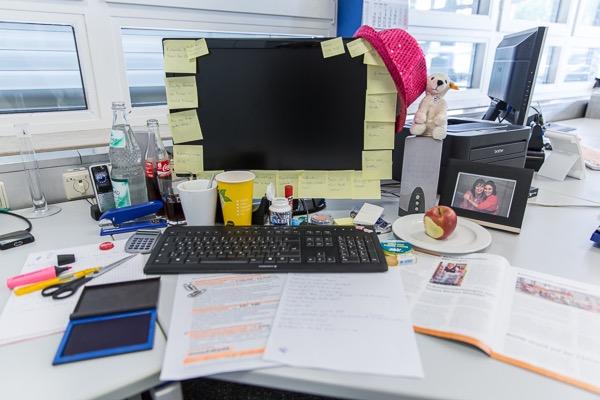 Ordnung am Arbeitsplatz spart Verwaltungskosten