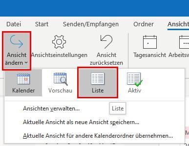 outlook-kalender-loeschen-kalenderbereich-auf-liste-aendern