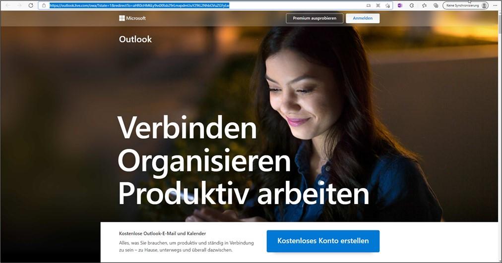 outlook-kalender-registrierung-kostenloses-Konto