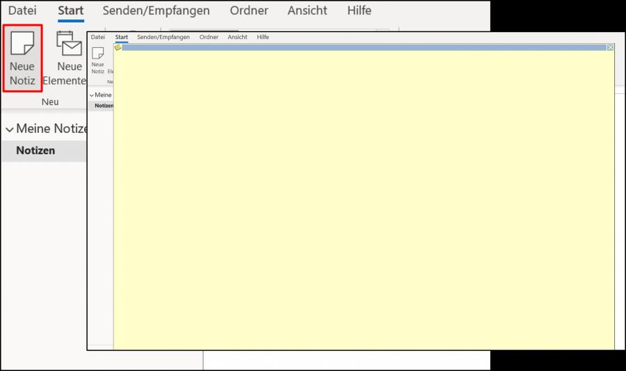 outlook-neue-notiz