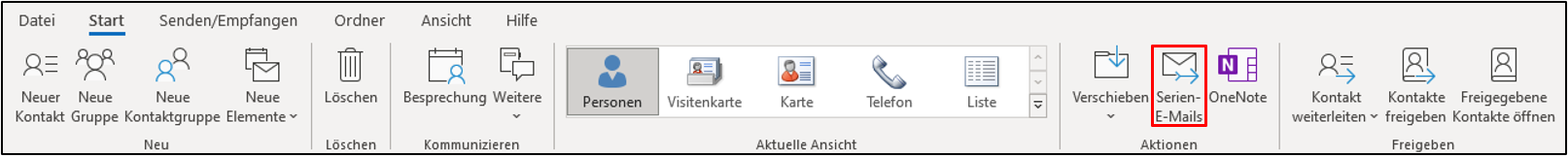 outlook-serienmails
