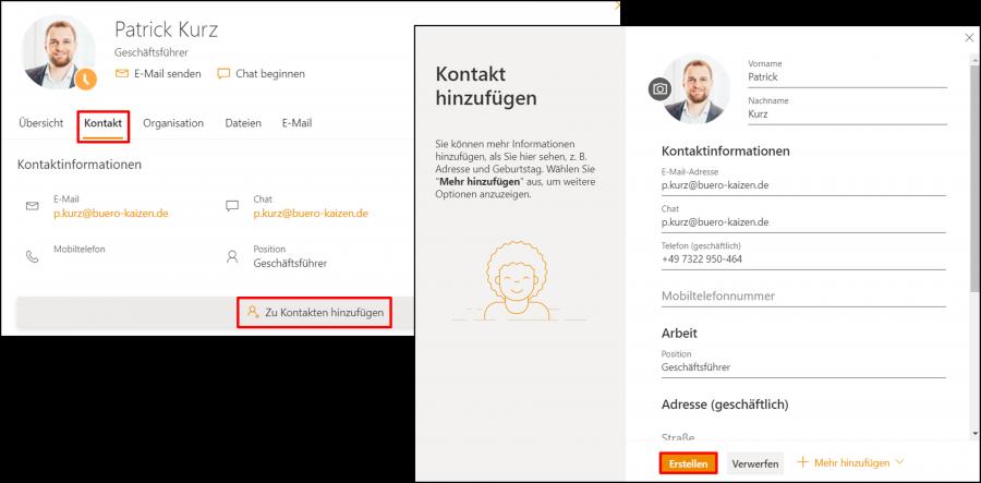 outlook-web-app-kontakt-erstellen