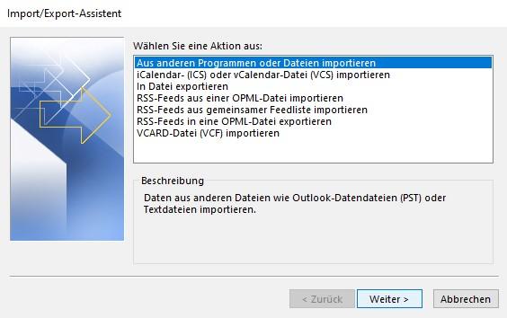 outlook-zuruecksetzen-aus-anderen-programmen-oder-dateien-importieren