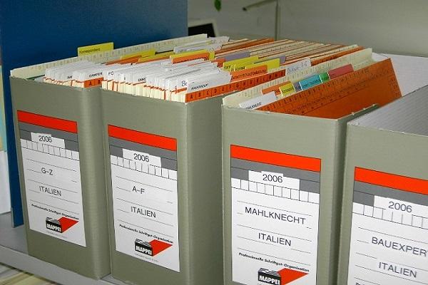 Platz im Archiv sinnvoll nutzen