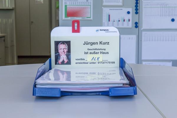 Posteingangsschale für Ablagesystem in Büro