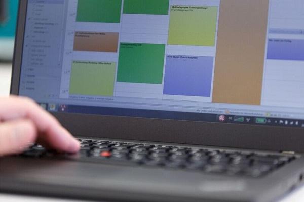 Pufferzeiten im digitalen Kalender