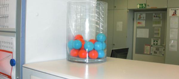 Schaumstoffbaelle zum Prozesse Visualisieren