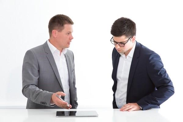 Schwierigkeiten können bei Quartalsgesprächen vorkommen