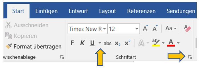 seitenzahlen-word-schriftart-texteffekte