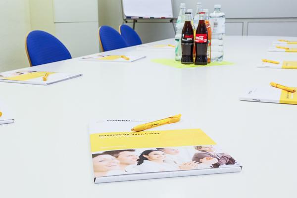 Seminar Büroorganisation Blick auf System