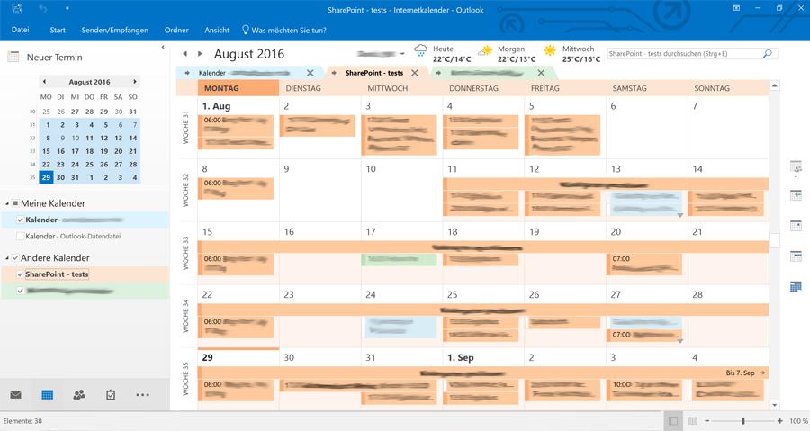 sharepoint-projektmanagement-kalender-in-outlook-eingebunden