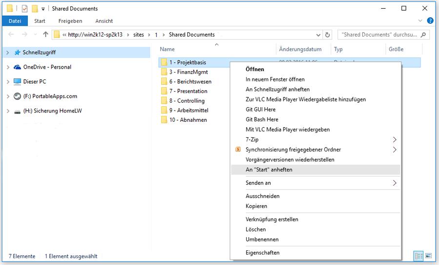 sharepoint-projektmanagement-webdav-schnittstelle