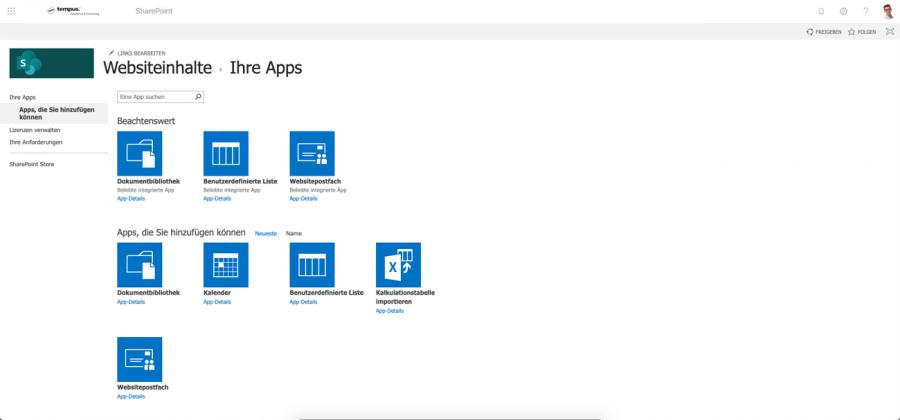 sharepoint-tutorial-websiteinhalte-ihre-apps