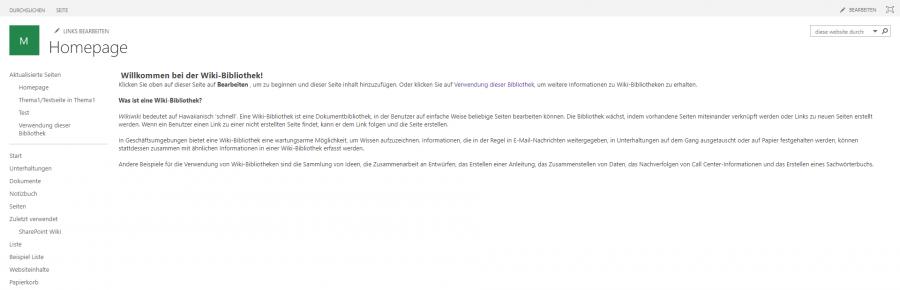 sharepoint-wiki-app-startseite