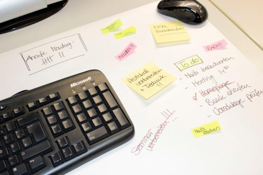Nutzen Sie lieber Outlook als Aufgabenplaner, um den Überblick zu behalten.