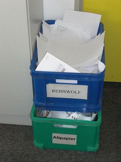 Weninger Papier spart Verwaltungskosten