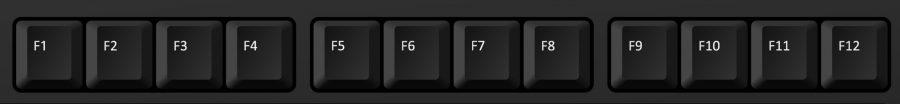 Mit den F-Tasten Ihrer Tastatur können Sie einfach und schnelle Befehle ausführen.