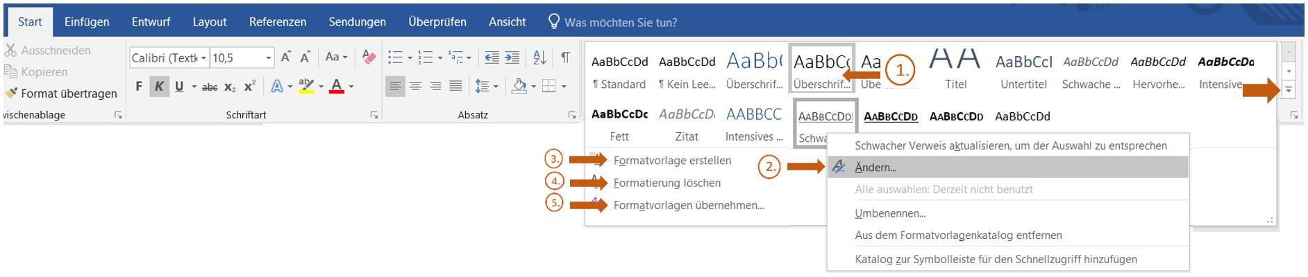 word-formatvorlage-schritt-eins-visualisiert