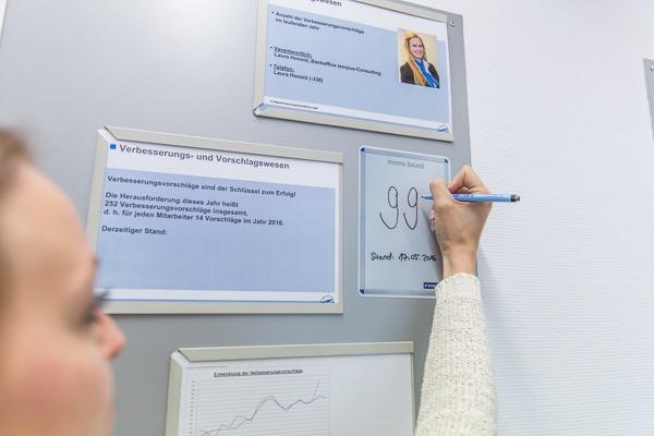 Ziele visualisieren in Abteilung
