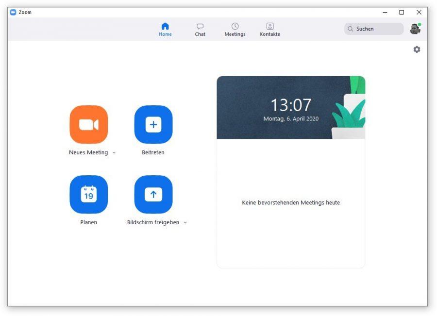 zoom-meeting-startbildschirm